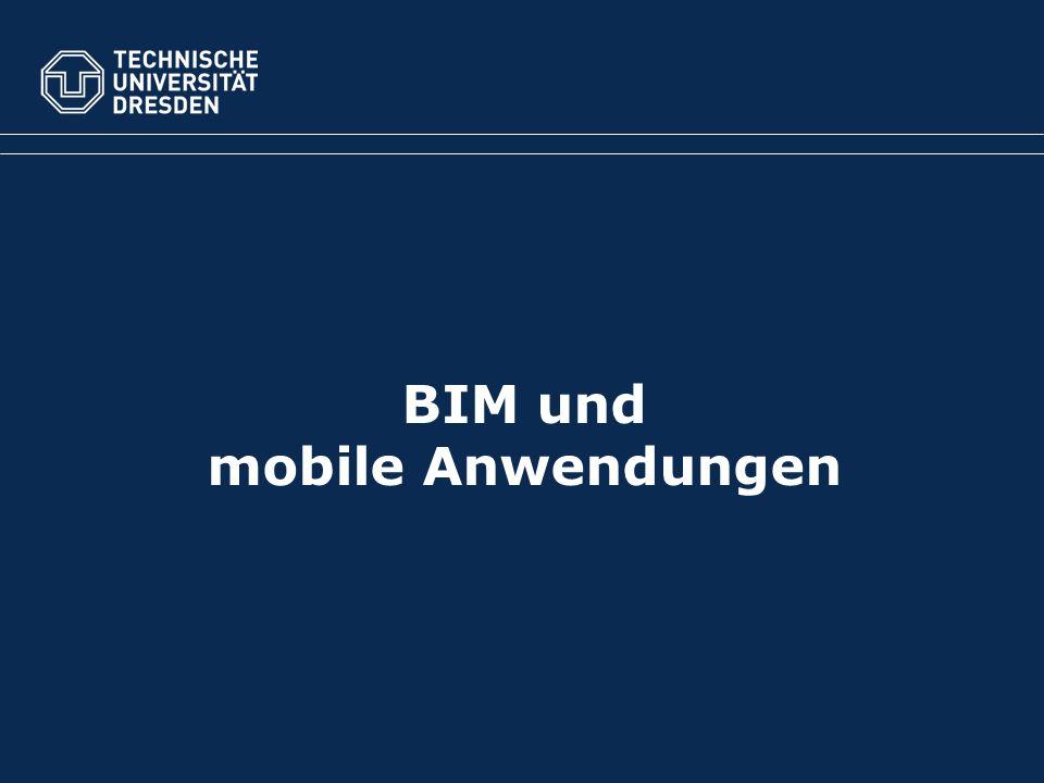 BIM und mobile Anwendungen