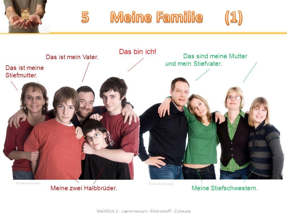 Weitblick 2 - Lærerressurs - Ekstrastoff - Zuhause Das bin ich.