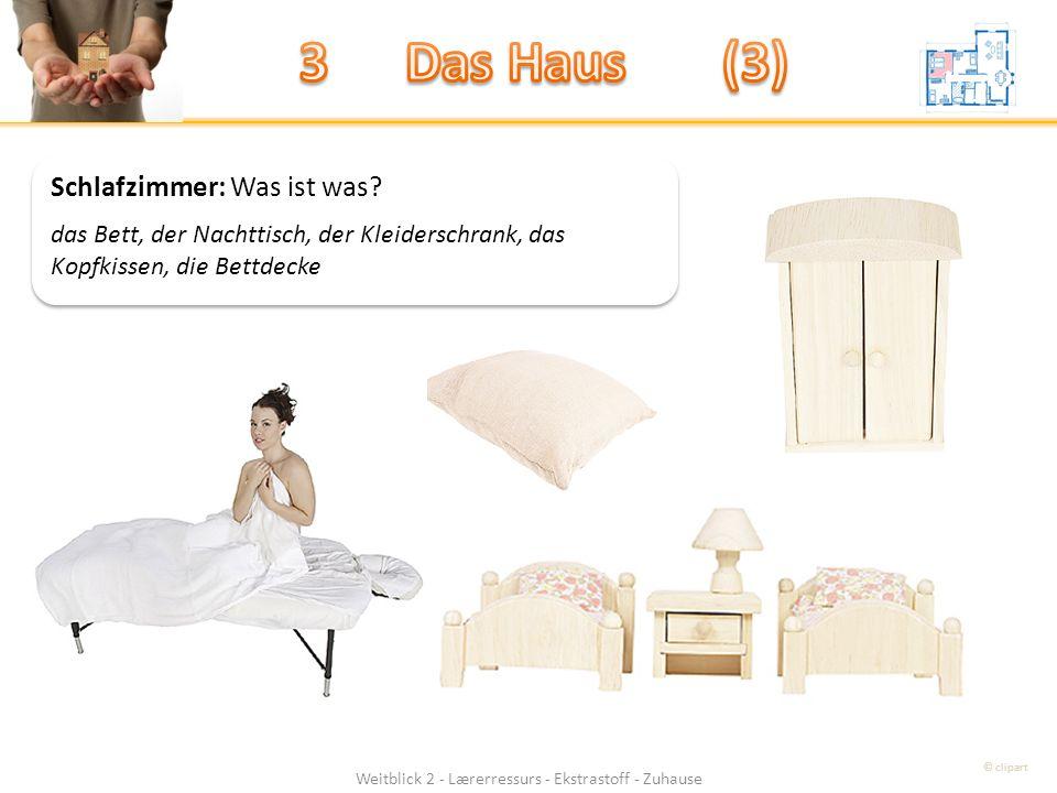 Weitblick 2 - Lærerressurs - Ekstrastoff - Zuhause Schlafzimmer: Was ist was.