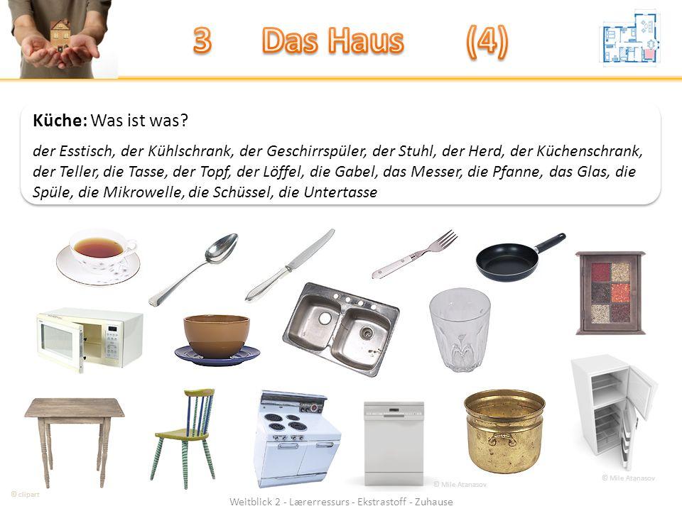 Weitblick 2 - Lærerressurs - Ekstrastoff - Zuhause Küche: Was ist was.