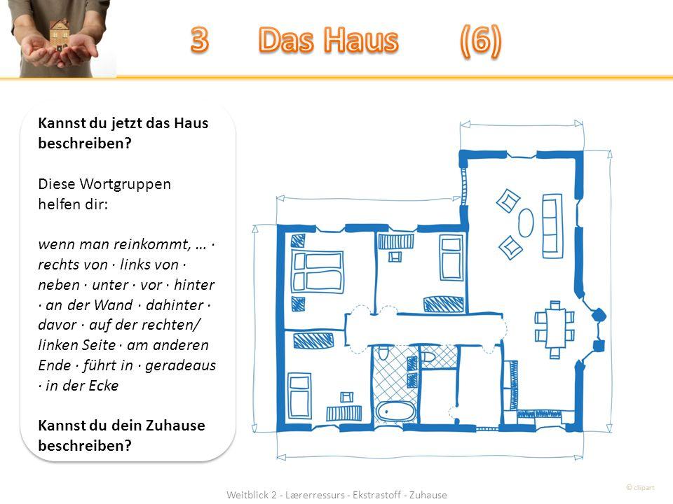 Weitblick 2 - Lærerressurs - Ekstrastoff - Zuhause Kannst du jetzt das Haus beschreiben.