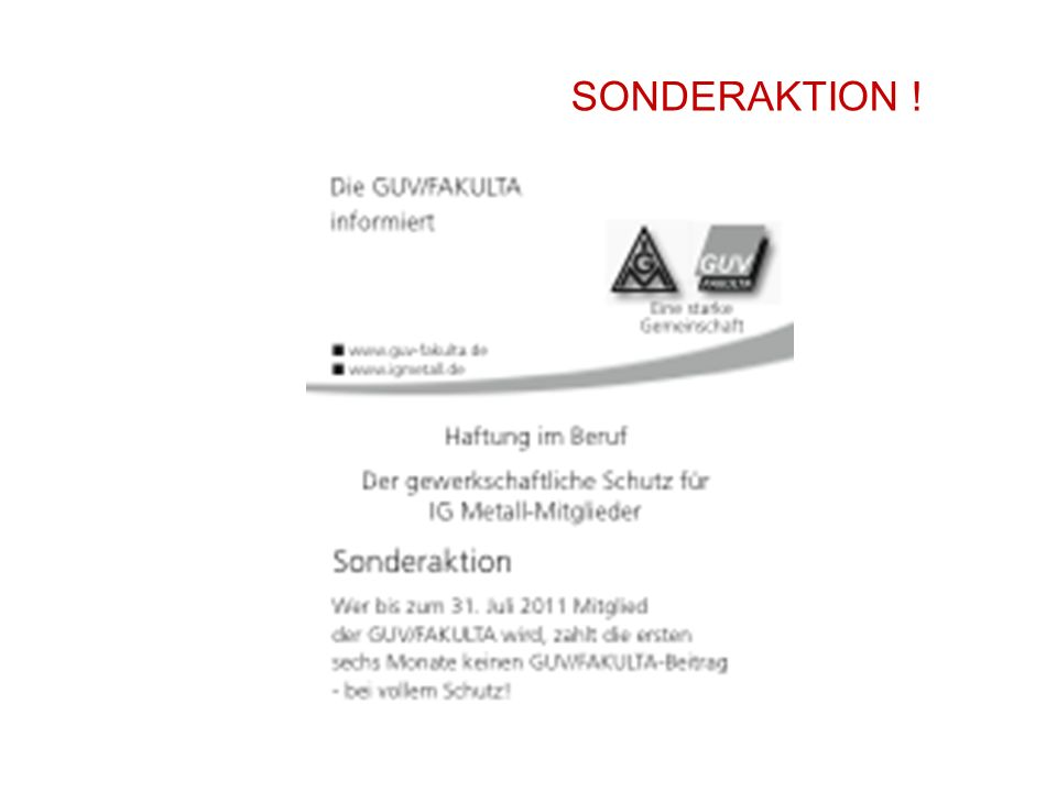 61 SONDERAKTION !
