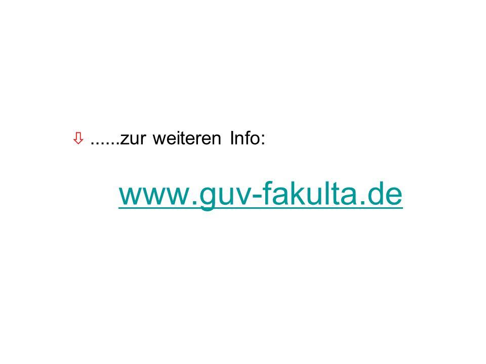 63 ò......zur weiteren Info: www.guv-fakulta.de