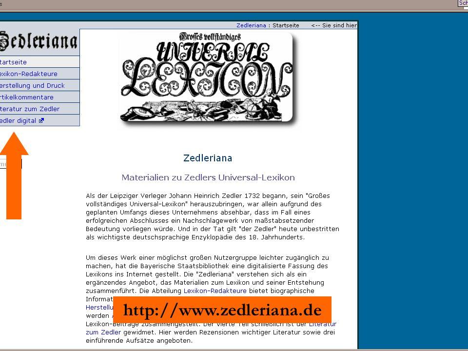 http://www.zedleriana.de