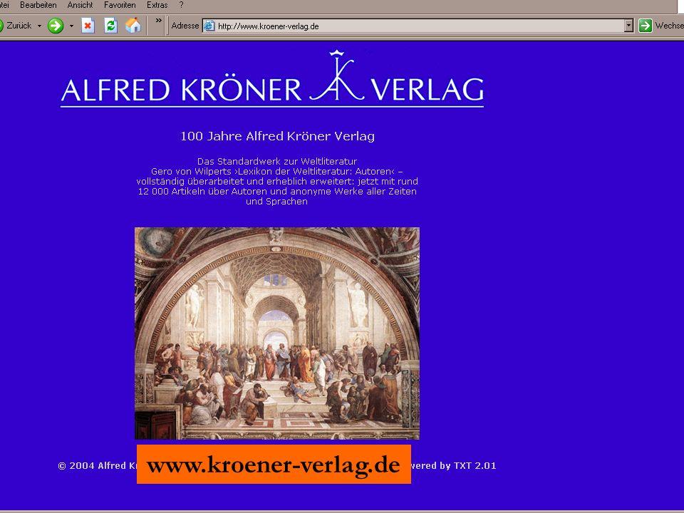 www.kroener-verlag.de