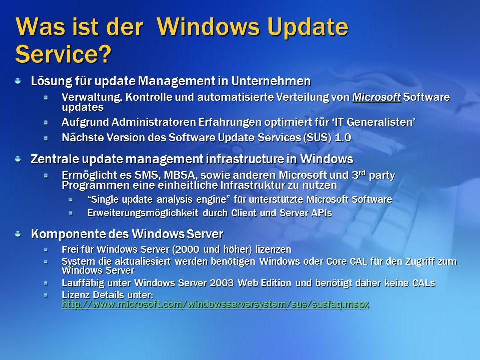 Was ist der Windows Update Service.