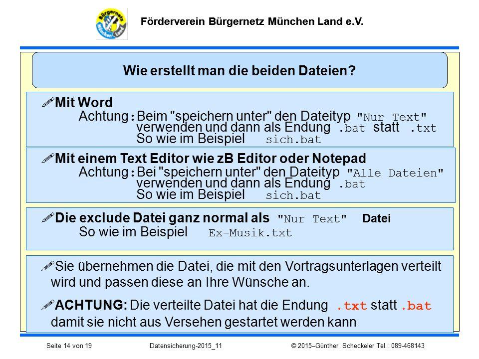 Förderverein Bürgernetz München Land e.V.