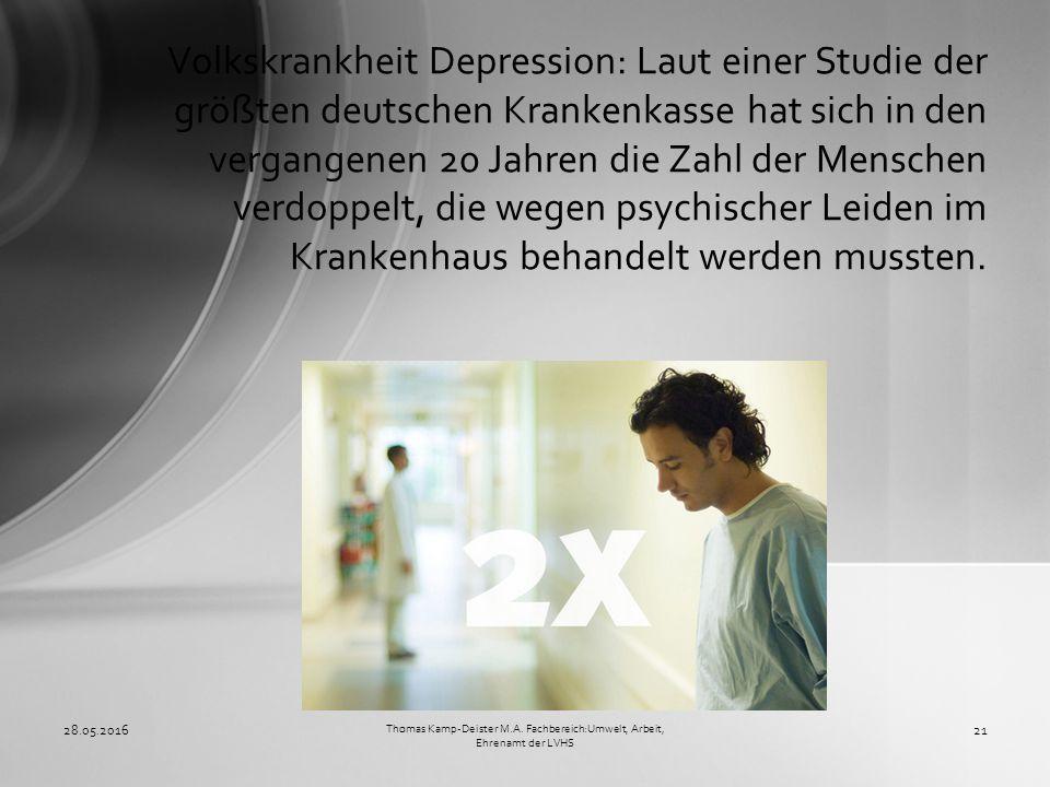 Volkskrankheit Depression: Laut einer Studie der größten deutschen Krankenkasse hat sich in den vergangenen 20 Jahren die Zahl der Menschen verdoppelt