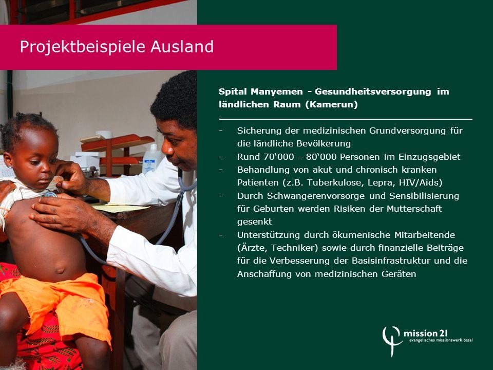 Ö kumenische Mitarbeitende und PEP-ler Jährlich unterstützen 20 – 30 qualifizierte Fachleute aus der Schweiz und Deutschland in langfristigen (mind.