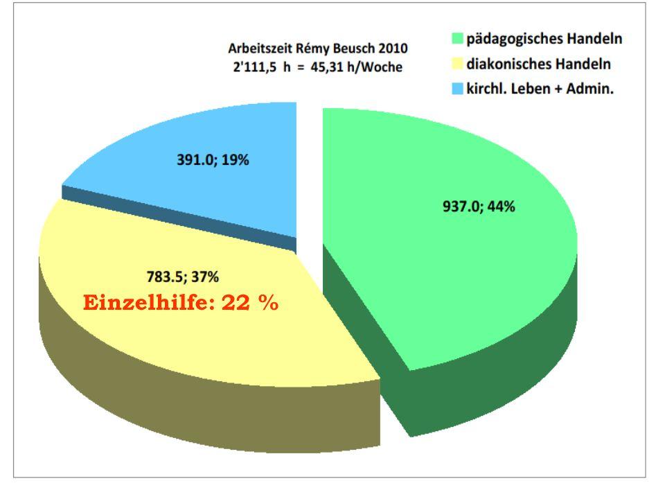 Einzelhilfe: 22 %