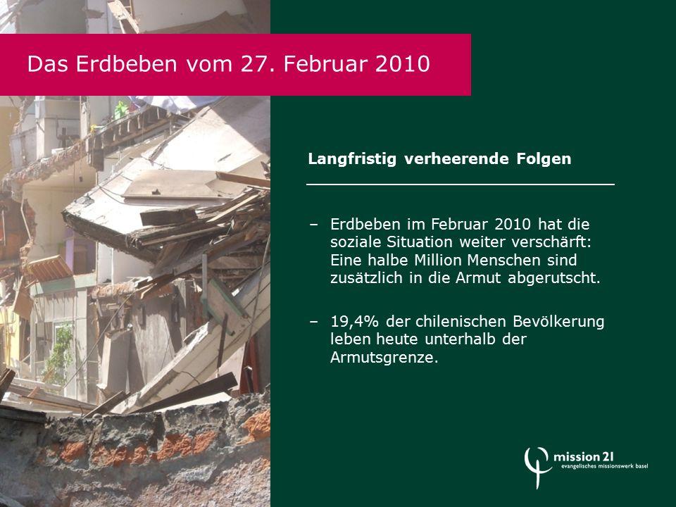 Das Erdbeben vom 27.