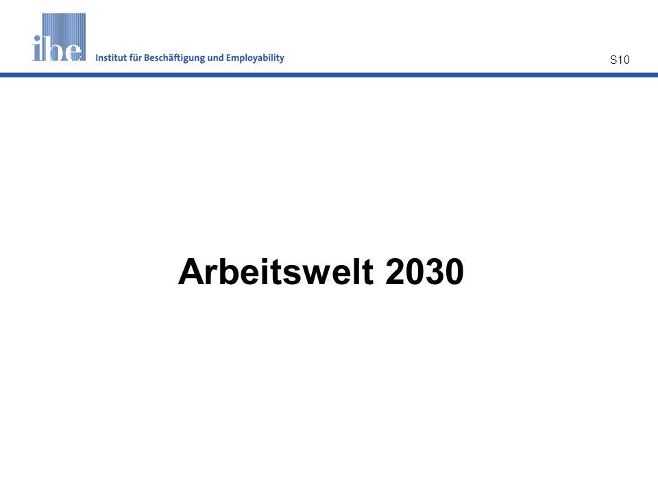 S10 Arbeitswelt 2030