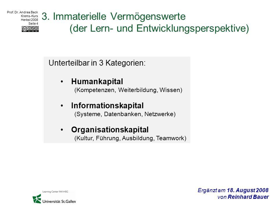 Prof.Dr. Andrea Back Krems-Kurs Herbst 2008 Seite 5 4.