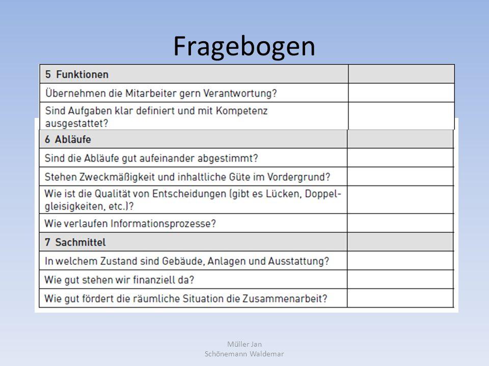 Fragebogen Müller Jan Schönemann Waldemar