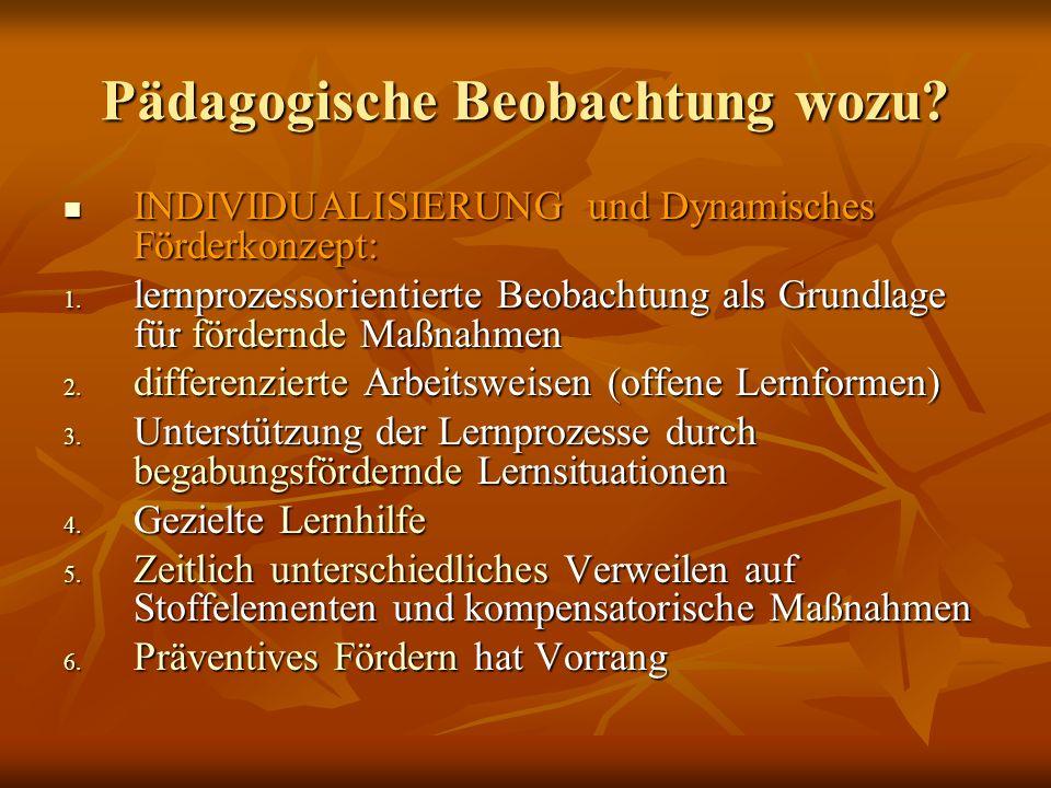 Pädagogische Beobachtung zur Leistungsfeststellung Pädagogische Beobachtung mit Hilfe von Standards und Kompetenzrastern http://www.institut- beatenberg.ch/lernjobs/alle_kompetenzraster_2 004-ohne-name.pdf http://www.institut- beatenberg.ch/lernjobs/alle_kompetenzraster_2 004-ohne-name.pdf http://www.learningfactory.ch/downloads/