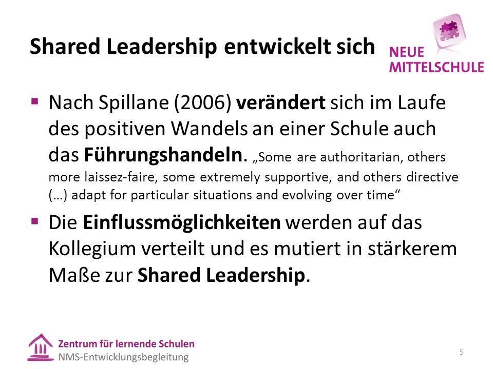 Von Leadership zu Shared Leadership Hierarchie Autorität durch Persönlichkeit oder Befugnis Kultur Autorität durch Expertise, Rollen, Aufgaben 16