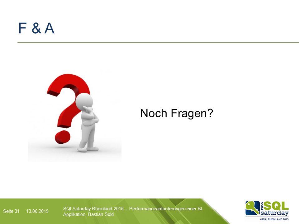 F & A Noch Fragen.