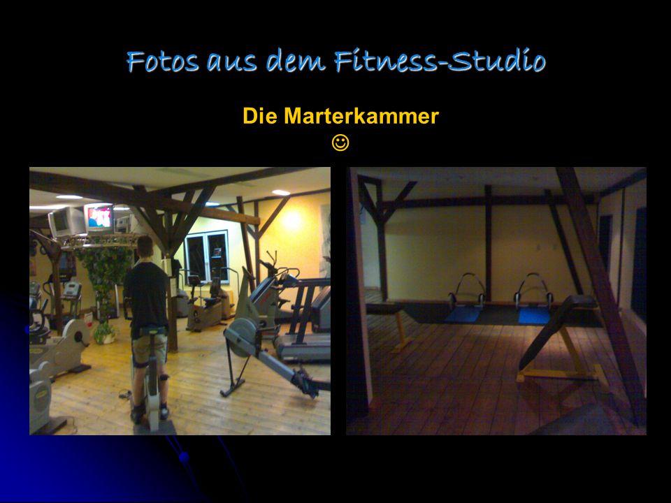 Fotos aus dem Fitness-Studio Die Marterkammer