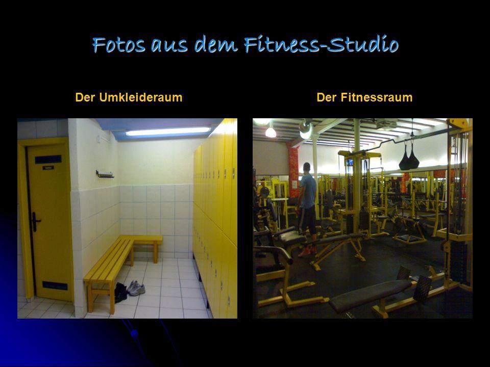 Fotos aus dem Fitness-Studio Der UmkleideraumDer Fitnessraum