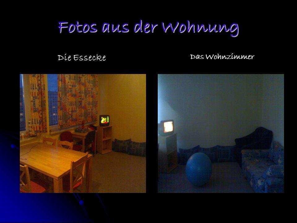 Fotos aus der Wohnung Die Essecke Das Wohnzimmer