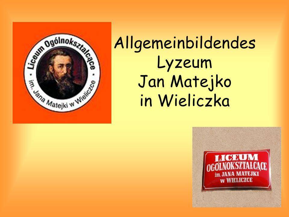 Allgemeinbildendes Lyzeum Jan Matejko in Wieliczka