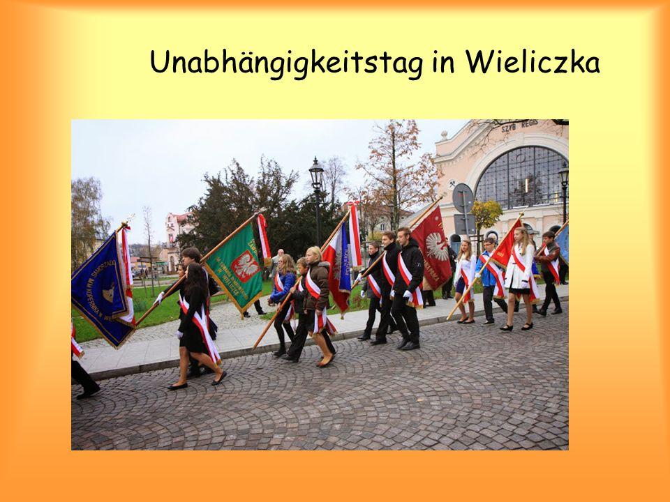 Unabhängigkeitstag in Wieliczka