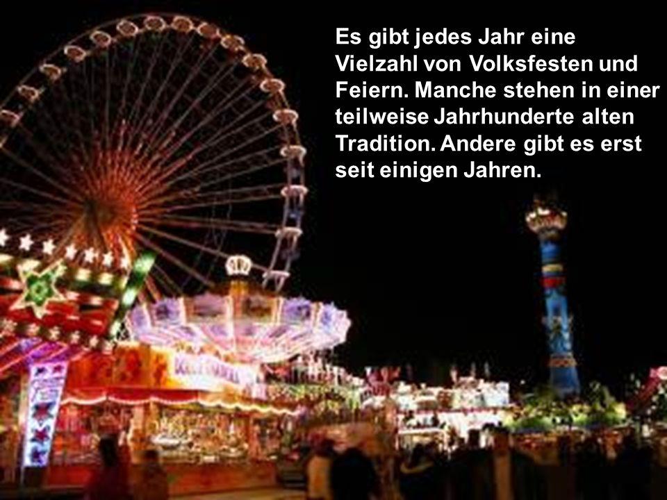 Erntedankfest – erster Sonntag im Oktober.