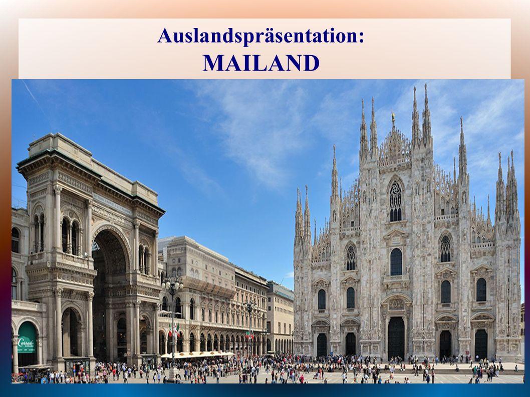 Auslandspräsentation: MAILAND