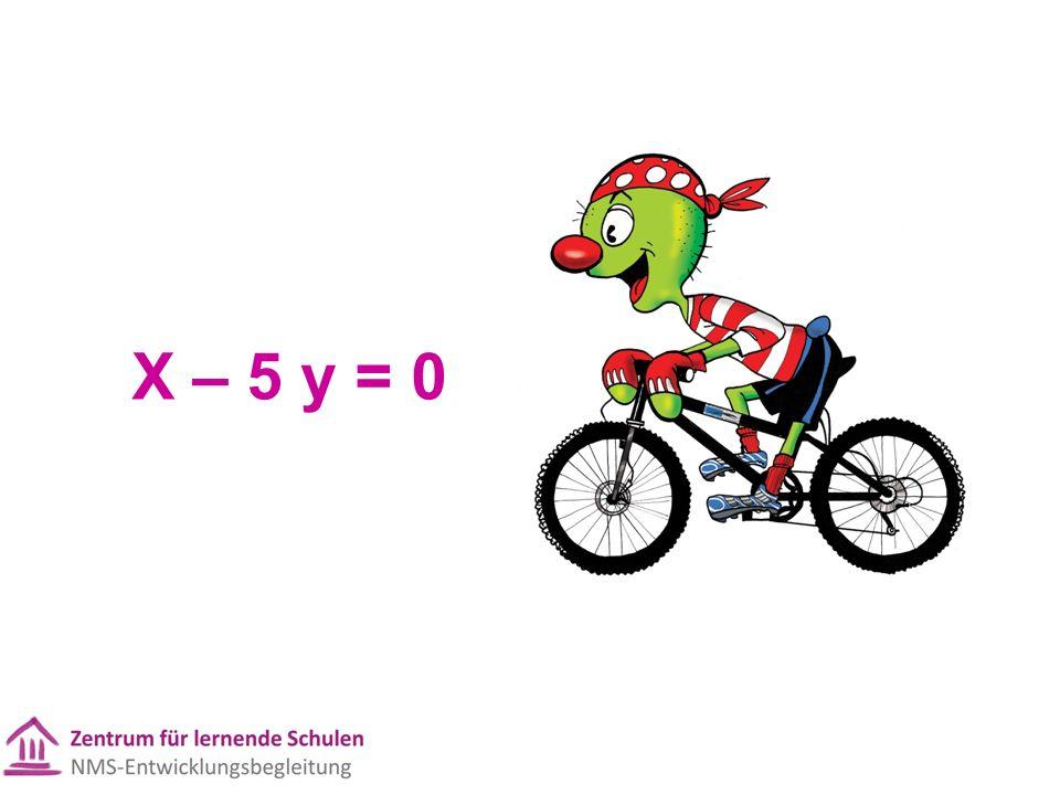 X – 5 y = 0