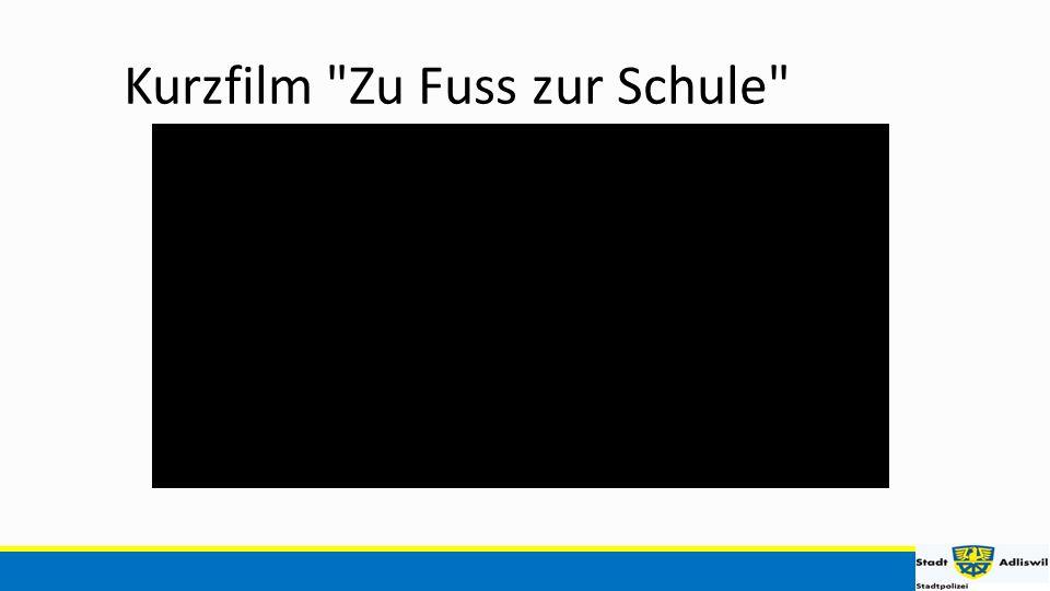 Kurzfilm Zu Fuss zur Schule