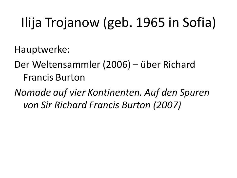 Ilija Trojanow (geb.