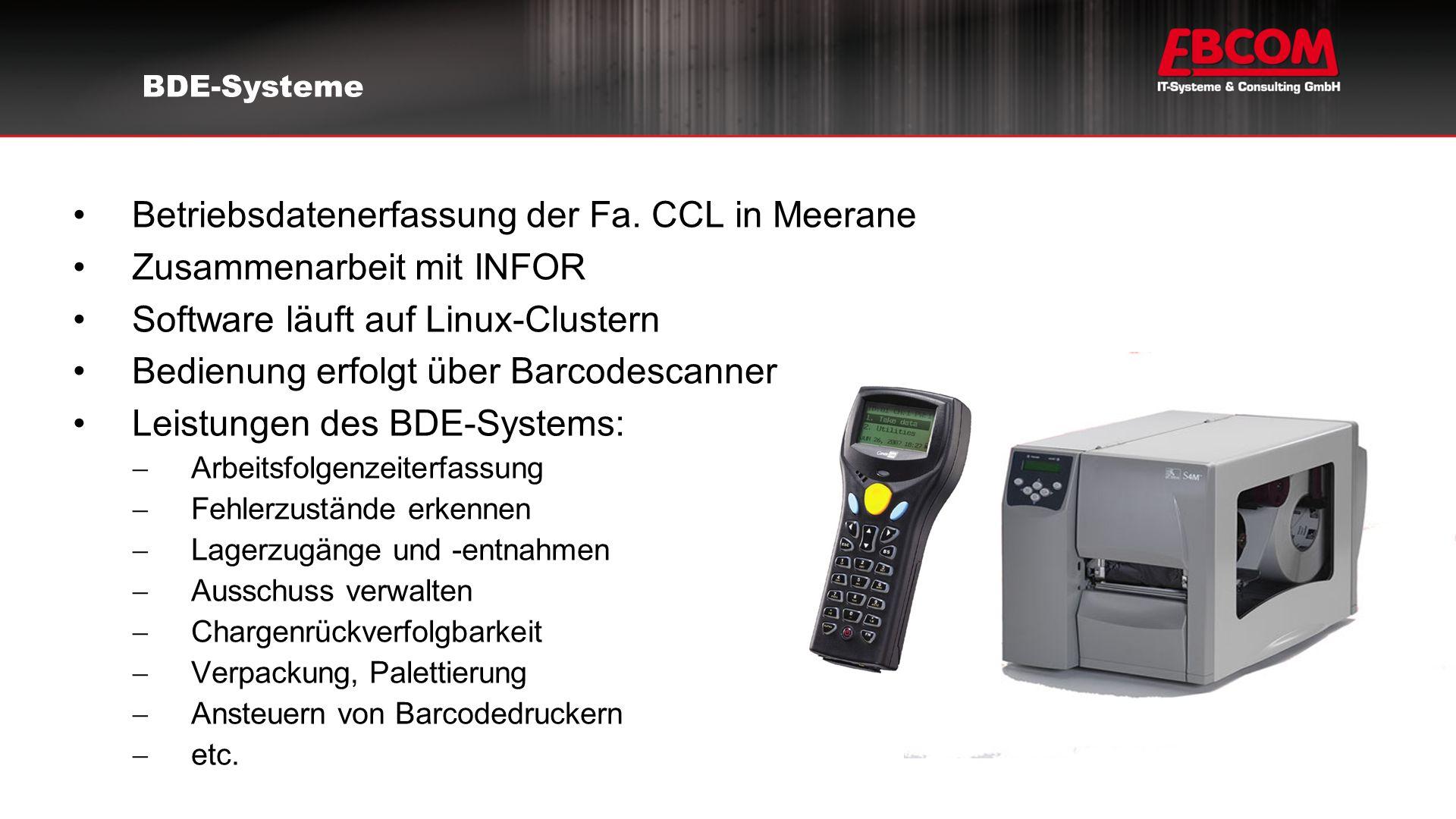 Betriebsdatenerfassung der Fa.