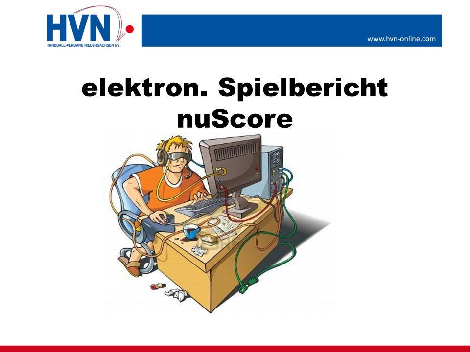 elektron. Spielbericht nuScore