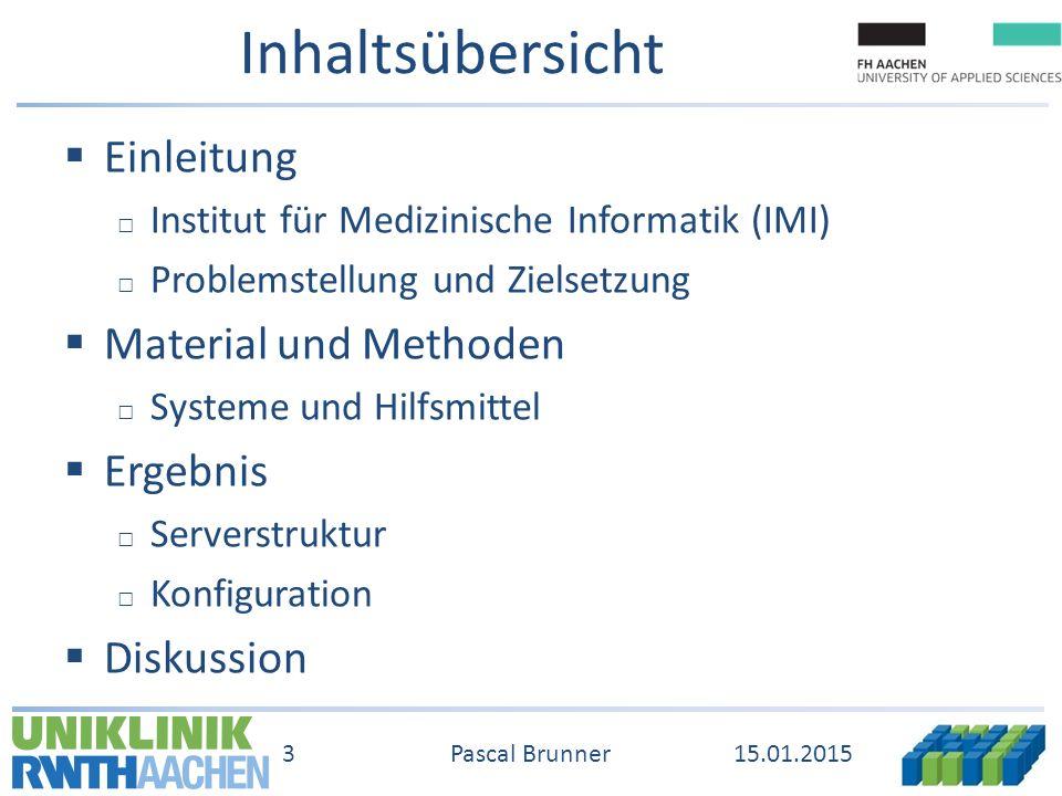 EinleitungMethodenErgebnisDiskussion 15.01.2015 24 Pascal Brunner Struktur App Kommunikationsserver PID R-Server ImageJ Matlab Java