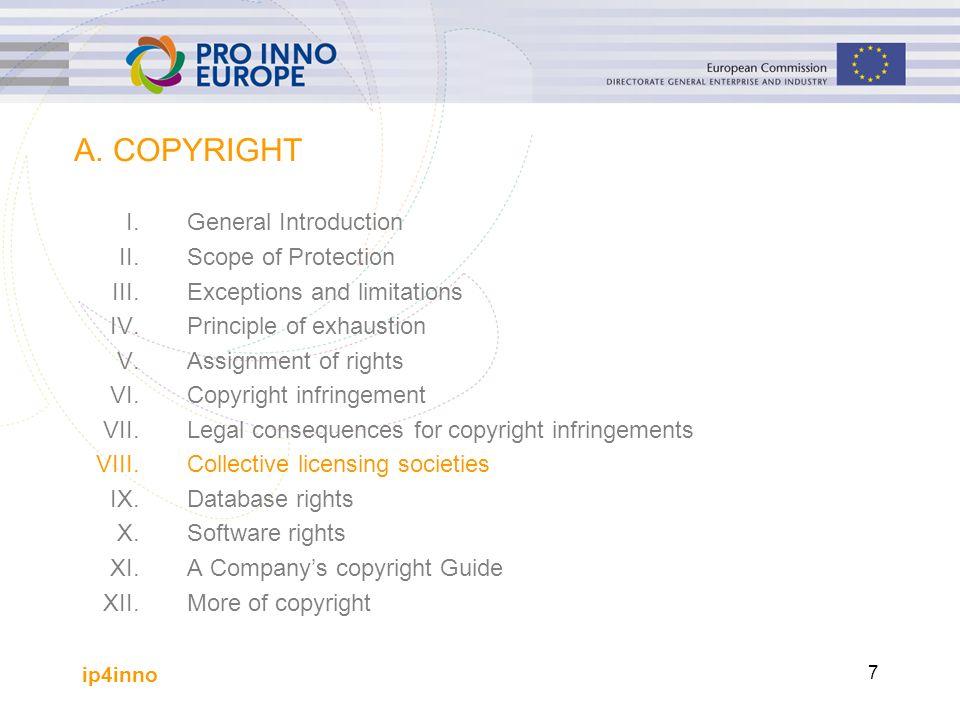 ip4inno 8 Einleitung (1) Musik und andere Künste werden oft in der Öffentlichkeit benutzt (z.B.