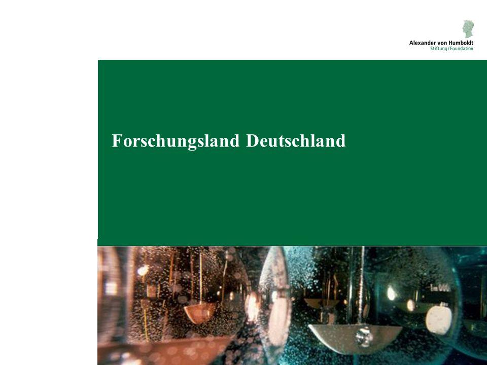 Forschungsland Deutschland