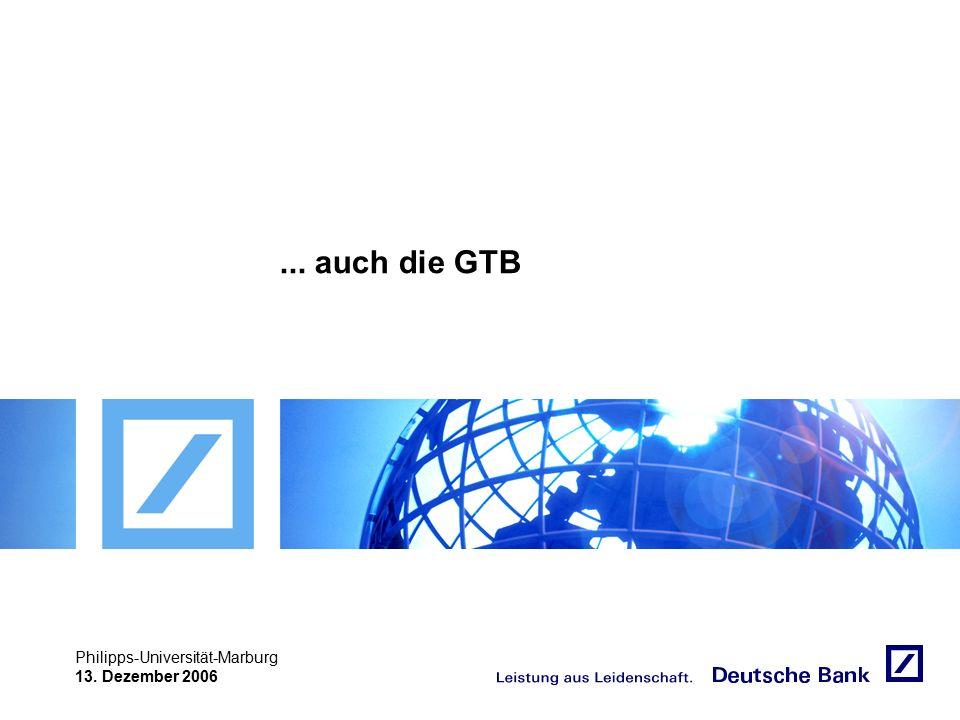 """Achtung! Präsentation nicht toggeln, da sonst Logo """"Passion to perform"""" erneut eingefügt wird. Philipps-Universität-Marburg 13. Dezember 2006... auch"""
