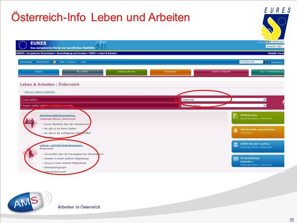 35 Arbeiten in Österreich Österreich-Info Leben und Arbeiten