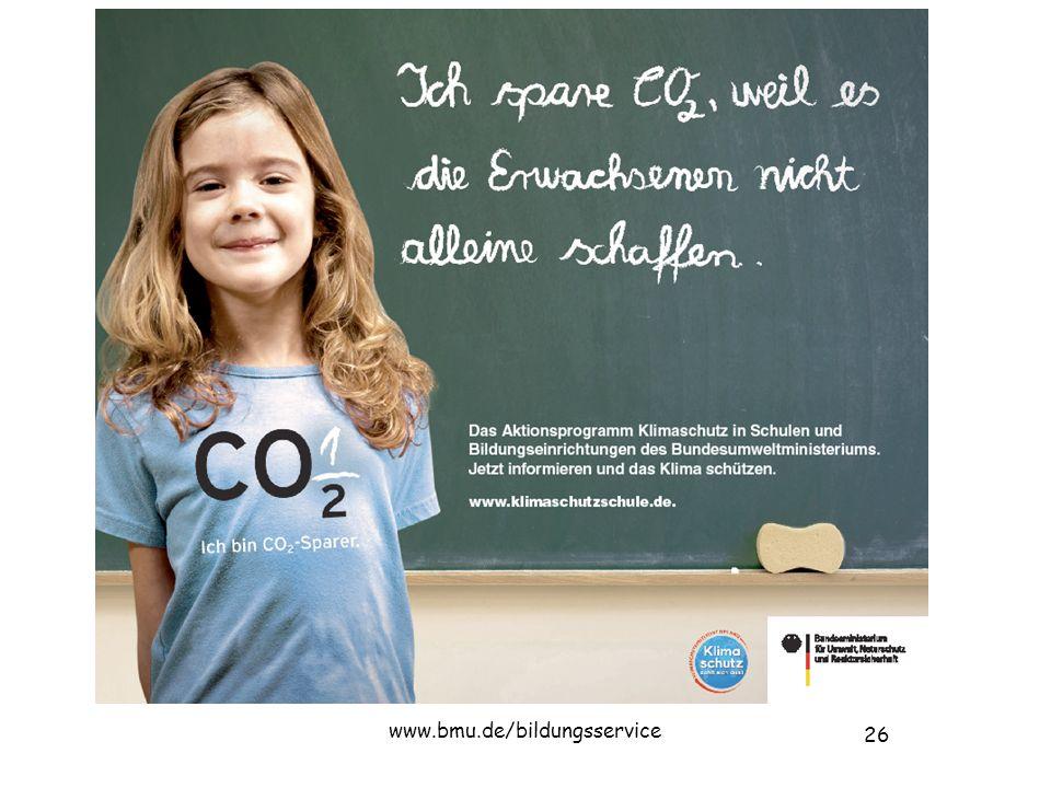 26 www.bmu.de/bildungsservice