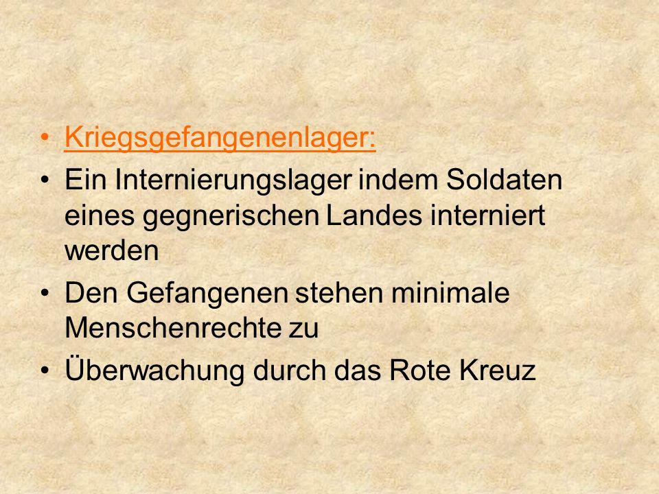 Flüchtlingslager: Ein Lager indem Flüchtlinge untergebracht wurden In Deutschland: Nach dem Krieg flohen viele Deutsche aus dem Osten in den Westen, wo man vor allem für Juden Flüchtlingslager errichtete