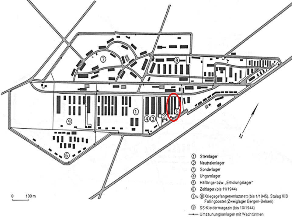 Zeltlager: Seit Anfang August 1944 Diente als Durchgangslager für aus Polen kommende Frauentransporte Ende Oktober wurden hier etwa 8000 untergebracht Nach einen Sturm wurden die Frauen auf bereits überfüllte Baracken verlegt