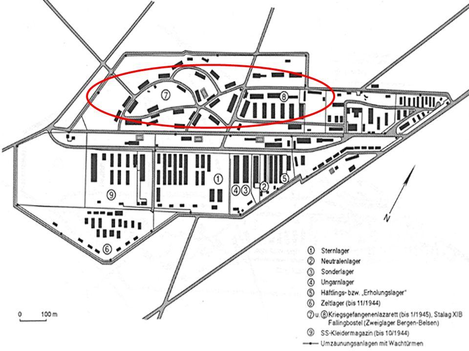 Kleines Frauenlager: Seit August 1944 Frauen aus dem KZ Auschwitz Davor war dieser Bereich das SS- Kleidermagazin