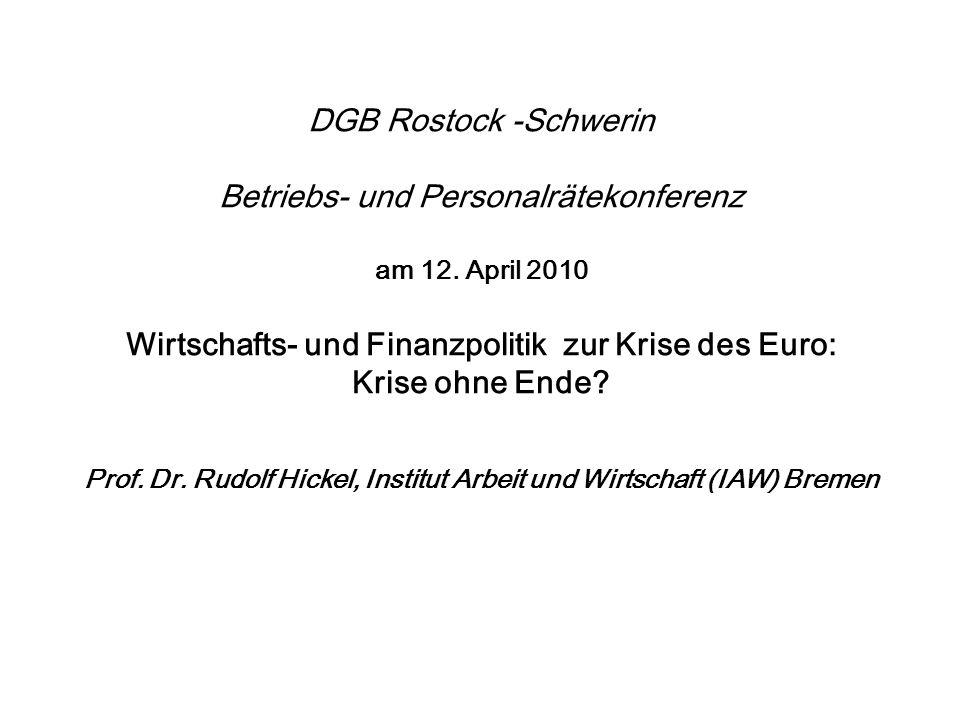 Stärkung der Europäischen Währungsunion durch den Ausbau der Wirtschaftsunion – Ein sechs Punkte Programm Fortsetzung 2.