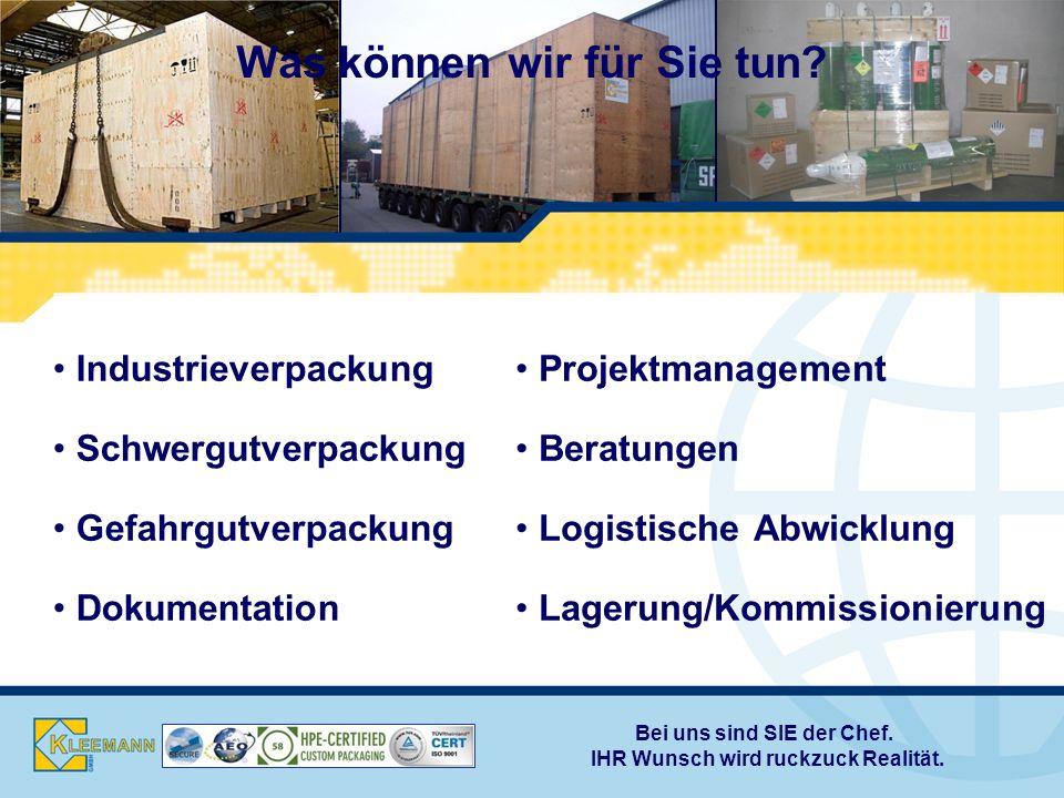 Beratung Die Entwicklung der optimalen Verpackung beginnt bei uns mit einer ausführlichen Beratung über Bau- und Verpackungsweisen, sowie Maximalgrößen für bestimmte Versandwege, Logistikketten und Empfängerländer.