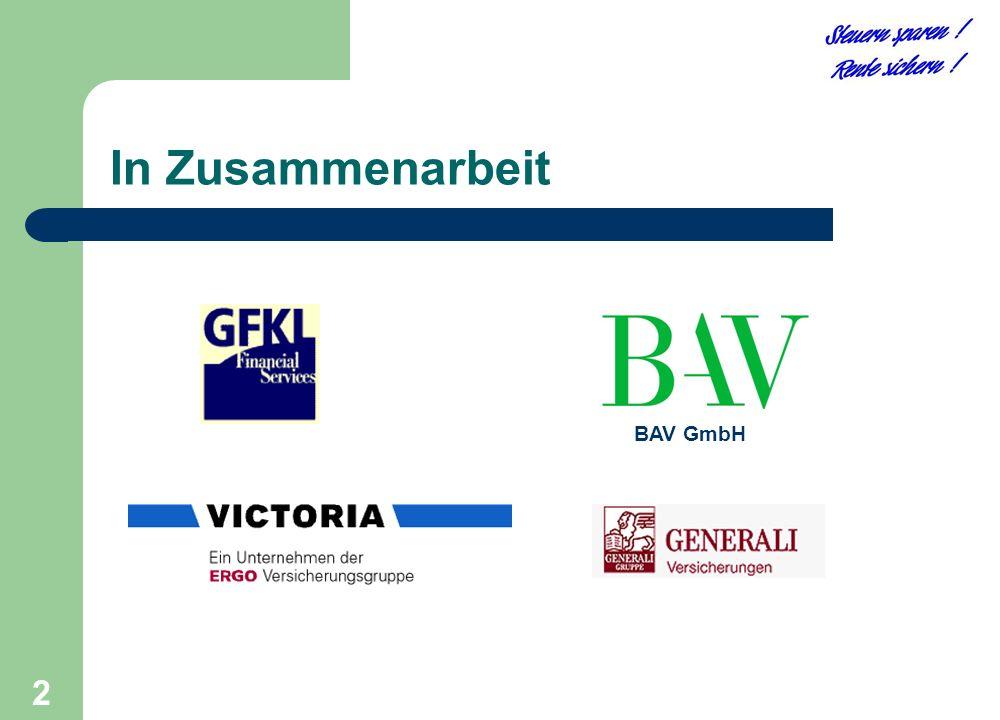 2 BAV GmbH In Zusammenarbeit