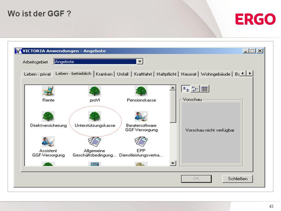 43 Wo ist der GGF ?