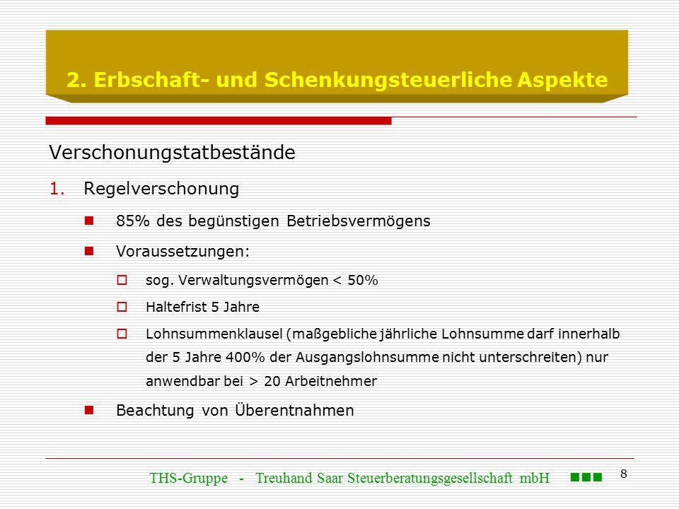 19 3.Ertragsteuerliche Aspekte  Zu 1.