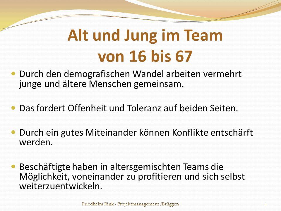 Herzlichen Dank für Ihre Aufmerksamkeit Friedhelm Rink - Projektmanagement /Brüggen35