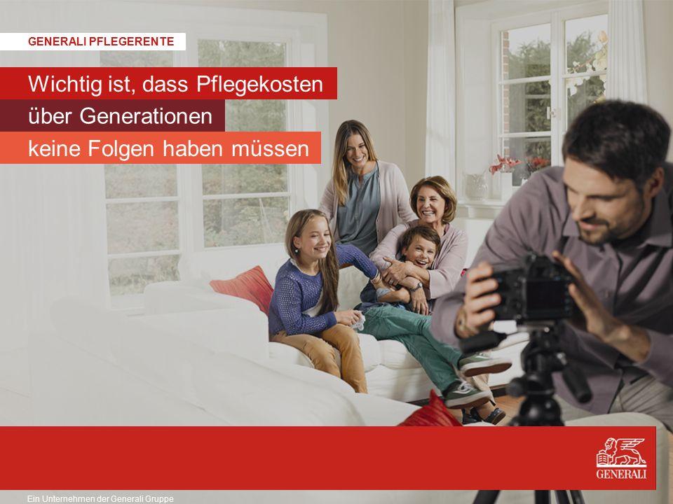 © Generali Lebensversicherung AG Produktsteckbrief Generali PflegeRente 3/4 Selbstständige Pflegeversicherung (SPRM 15) 21 Back-up Verzicht auf Anwendung §163 VVG Nein.