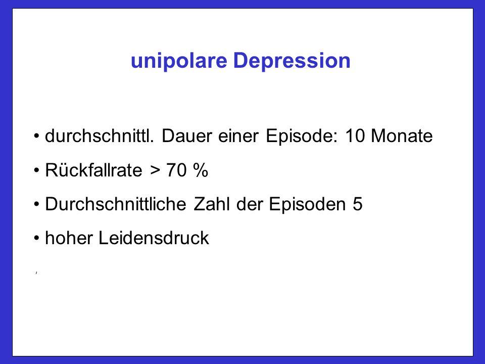 Psychotische Depression ICD-10 F32.3: Schwere depressive Störung mit psychotischen Symptomen (synthymer oder nicht synthymer Wahn, Halluzinationen, psychomotorische Erregung oder Hemmung) DSM-IV: Halluzinationen, synthymer oder nicht-synthymer Wahn